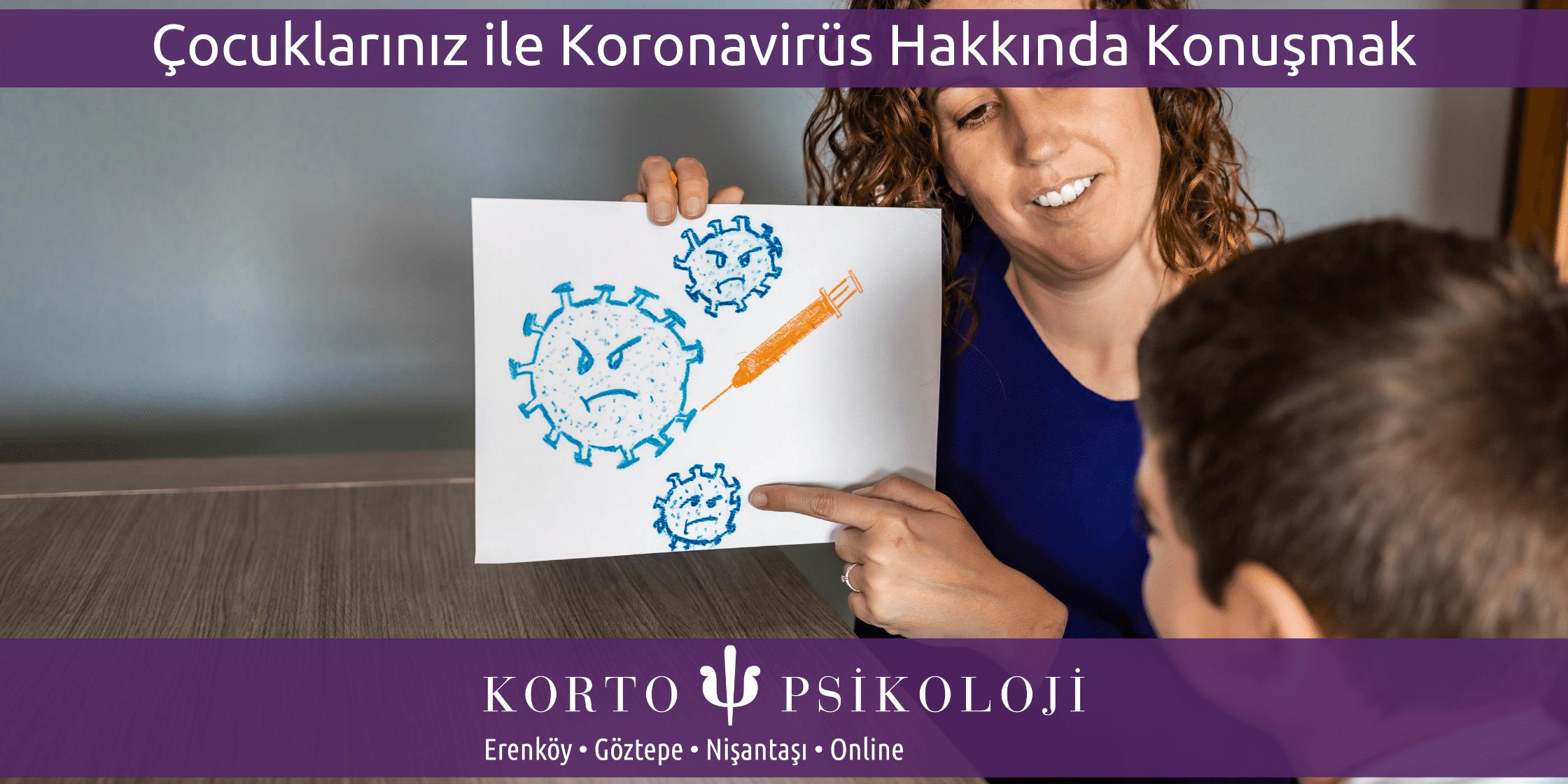 Çocuklarınız İle Koronavirüs Hakkında Konuşmak